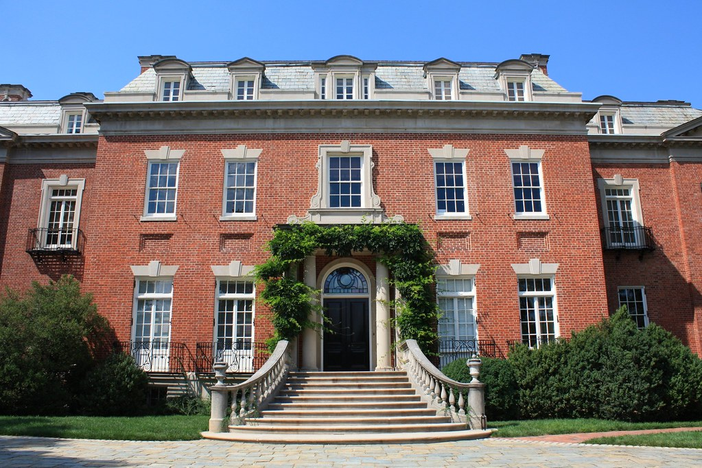Dumbarton Oaks House The Main Building Built Circa 1800