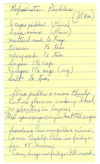 Grandma's pickle recipe | by katbaro