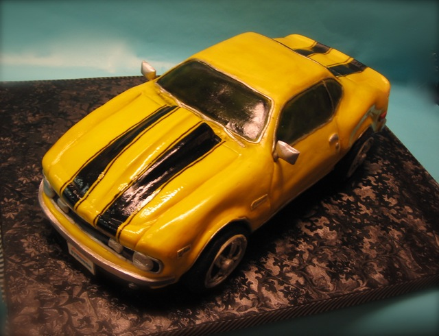 Muscle Car Cake Pan