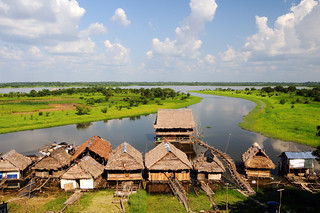 Waterfront Property on the Amazon River | by Leonid Plotkin