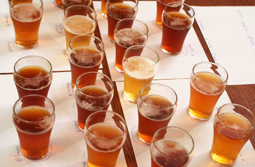 beverage color affects taste perception beer variety