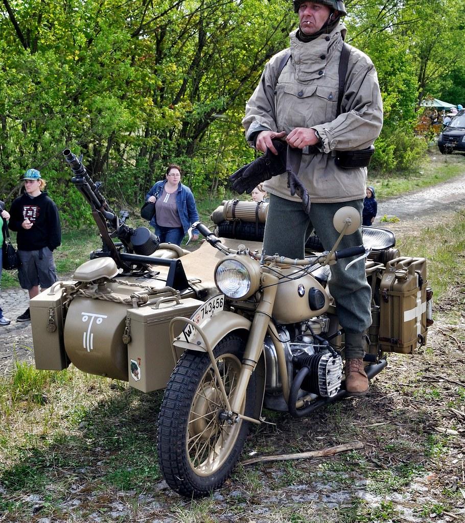 BMW R75 Wehrmacht Sidecar