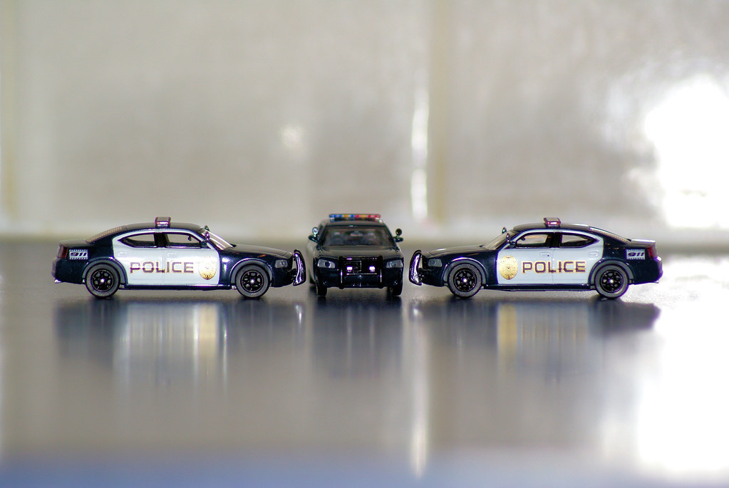 1 87 Scale Dodge Charger Police Cars Wheelcipher Flickr
