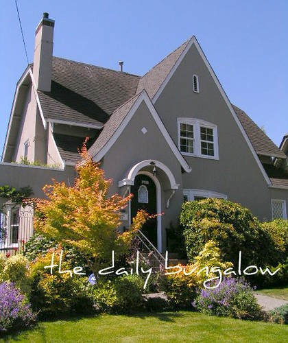 What Is A Bungalow Style Home: English Cottage Style Home::Eldridge Historic District