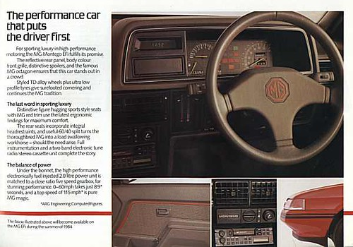 Mg Montego Dashboard Mtcl Motors Flickr
