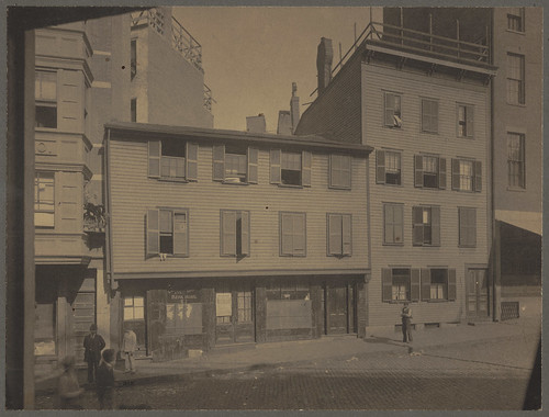 Paul Revere House, North Square, North End | by Boston Public Library