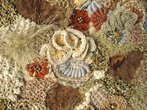freeform knit & crochet fabric closeup | Flickr - Photo ...