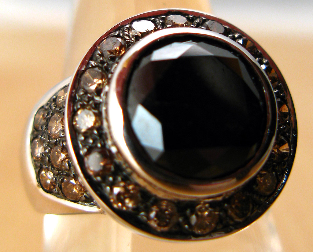 Black Diamond Ring Band Womens