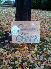 Princesses for Obama! | by Lorika13