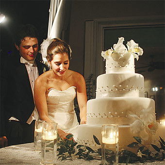 How To Set Up A Wedding Cake Table