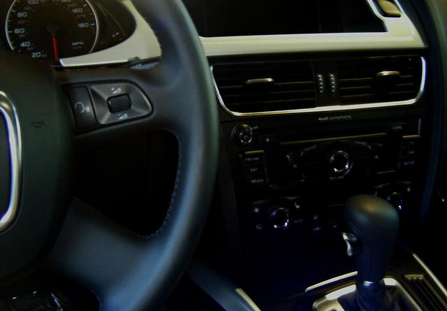 2009 Audi A4 Interior Visit The Audi Blog For Audi Reviews Flickr
