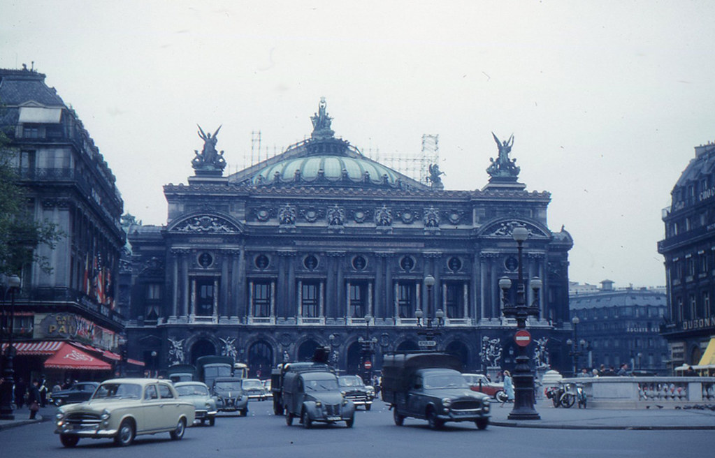 Paris - Place de l'Opéra (1960) | This is the first photo th… | Flickr