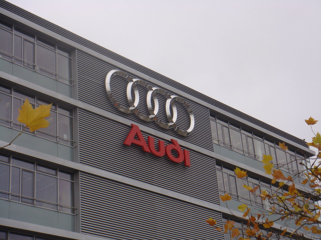 audi headquarters audi headquarters in ingolstadt german andrea vascellari flickr. Black Bedroom Furniture Sets. Home Design Ideas