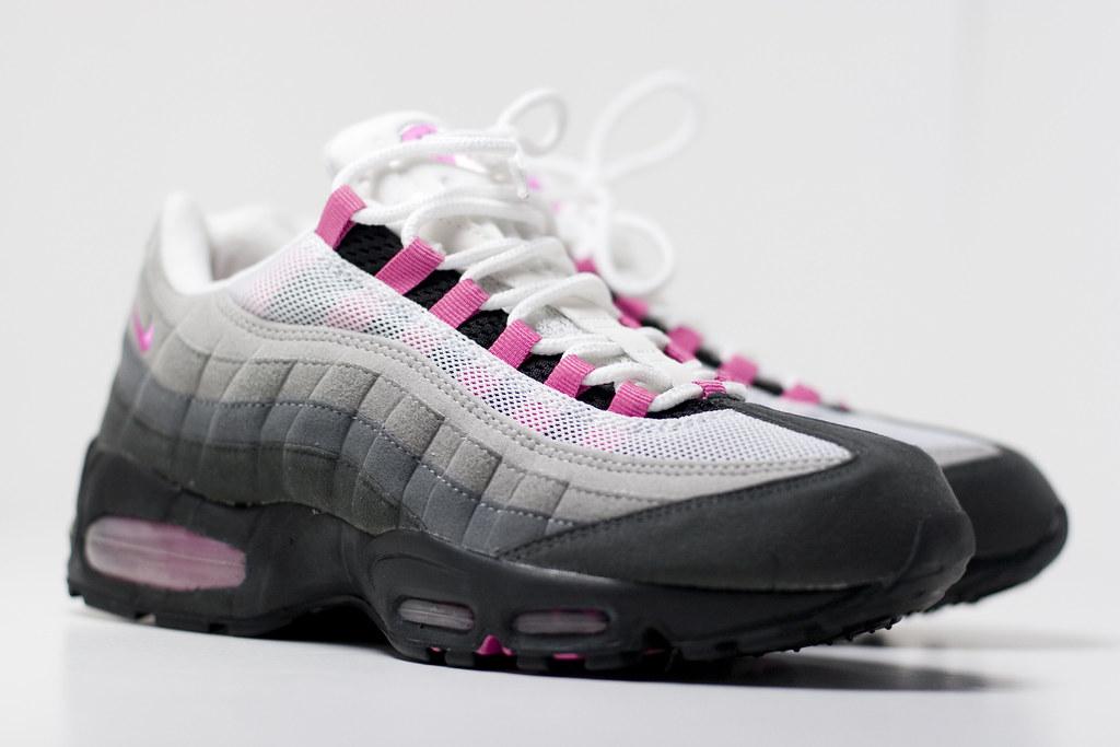 pink nike air max 95