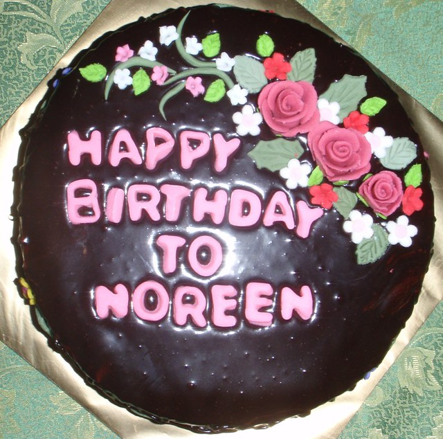 Birthday Cake for Noreen from Eva Fadzilah Abdul Samad Flickr