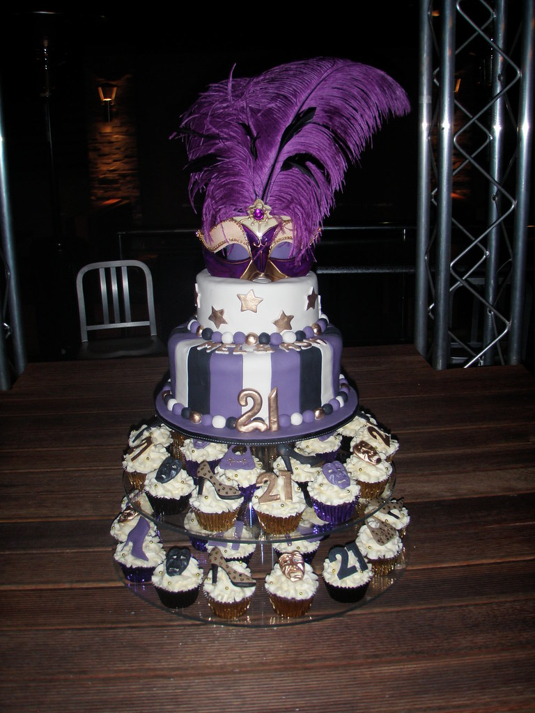 Masquerade Cakes And Cupcakes