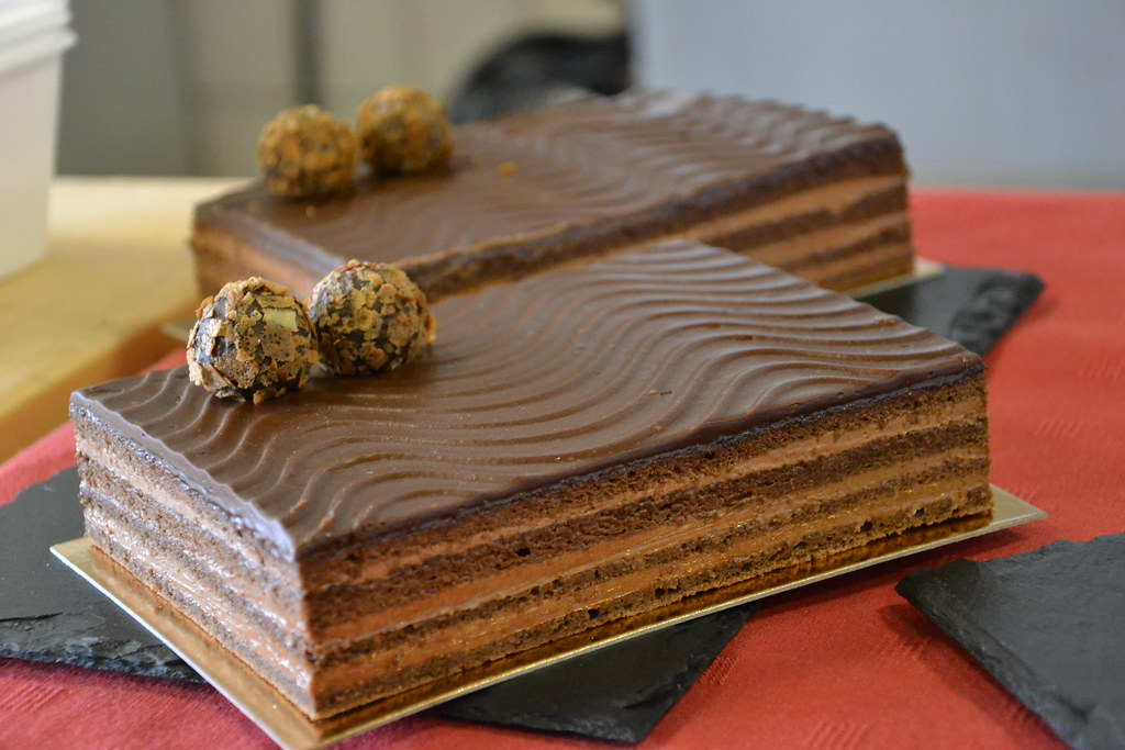 Chocolate And Cointreau Cake