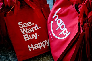Happy Tote Bags | by CeeKay's Pix