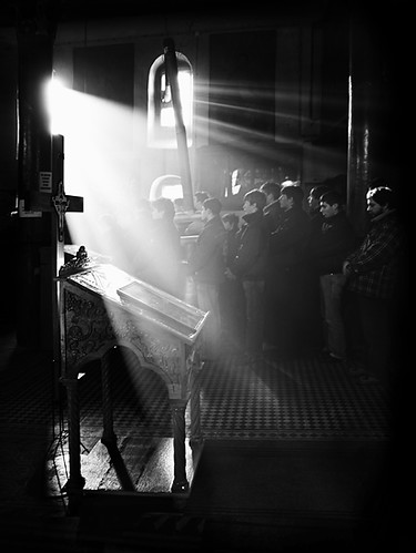 God's-light. Light Streaming into Church. Liturgy. Tanjica Perovic Photography. | by Tanjica Perovic Photography