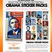 Obama Election Collection Sticker Packs