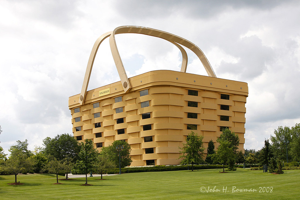 Basket Case Longaberger Office Building The