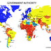 Map of government authority