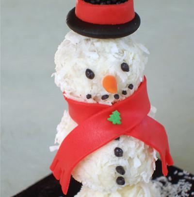 Snowman Cake Pop Pan