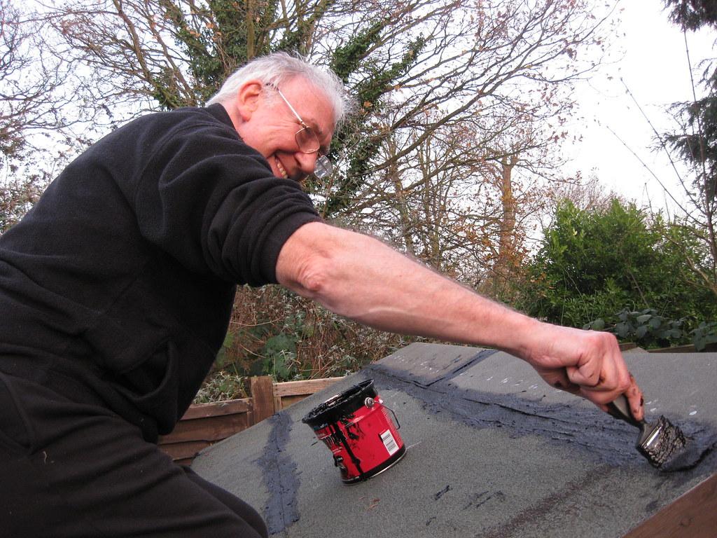 Roof Felting For Dog Kennel Manbys