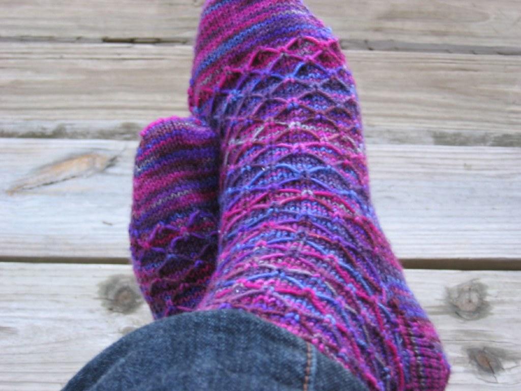 Knitting Like Crazy Blog: Leyburn Socks