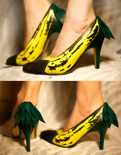 Banana Shoes | by MOLAIRE