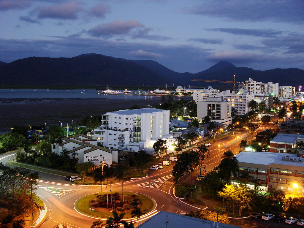 Gold Reef City >> Cairns- Foreshore promenade | Cairns is a regional city ...