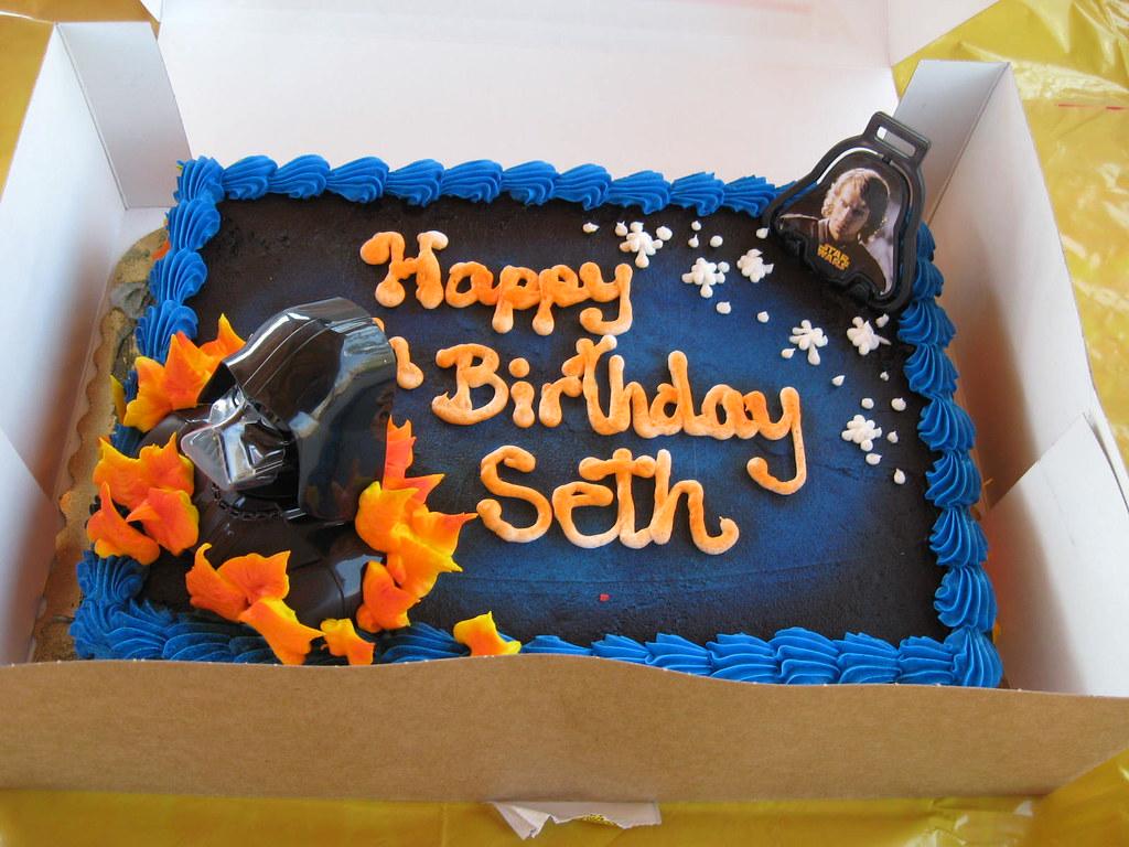 Happy 5th Birthday Seth Seth Wanted A Star Wars Theme