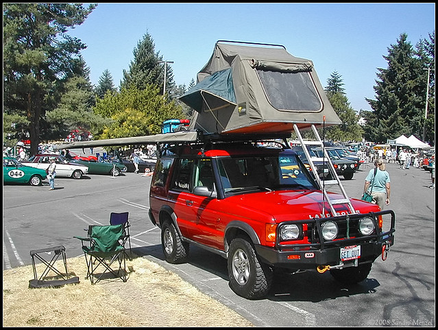 ... Land Rover Discovery-II u2013 Roof-Top Tent | by smenzel & Land Rover Discovery-II u2013 Roof-Top Tent | [ 2003 Western Wasu2026 | Flickr