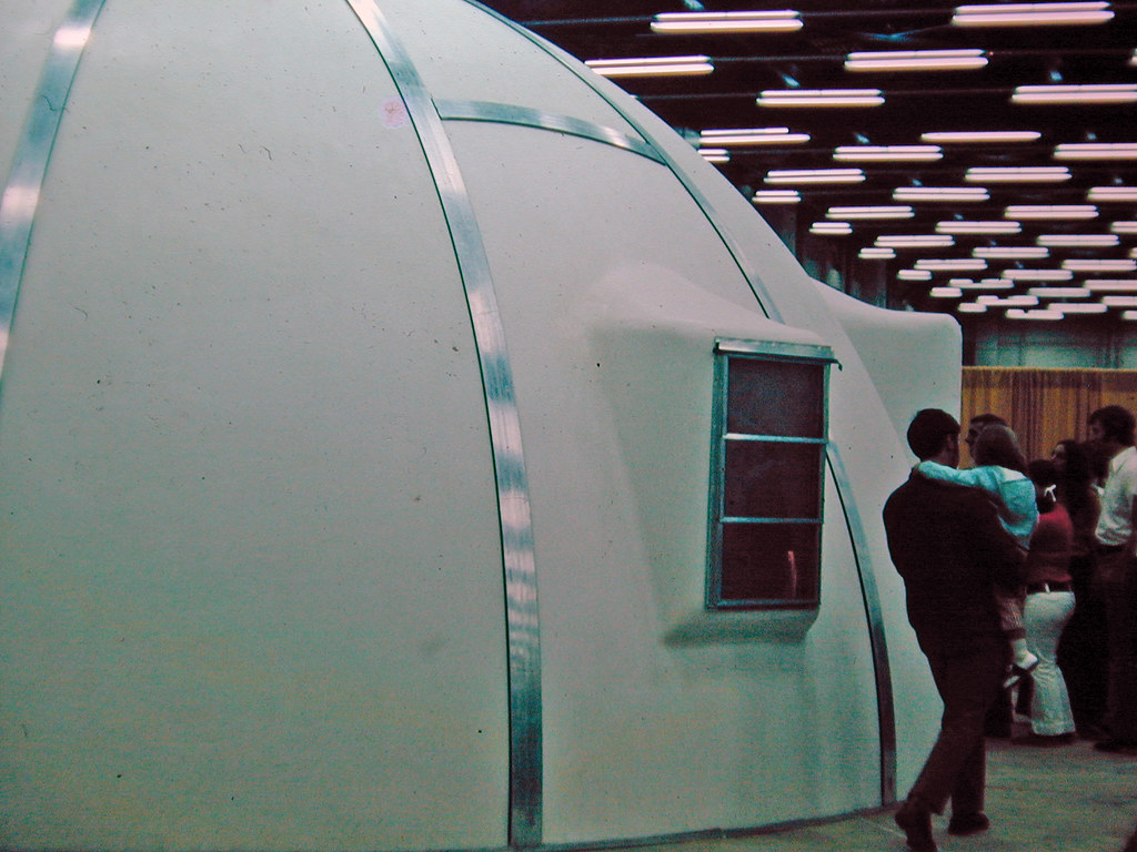 Foam Dome Home At A Home Show In Atlanta In The Early