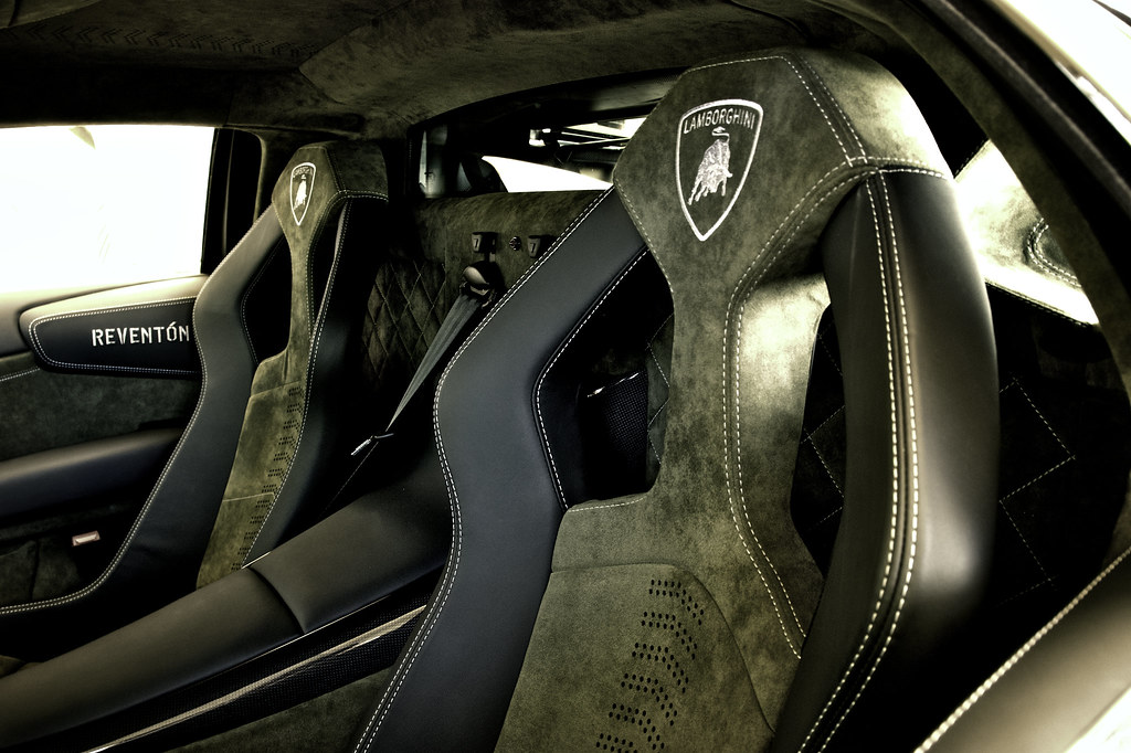 lamborghini reventon interior - photo #15