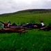 Wild camping Kings Forest of Geltsdale