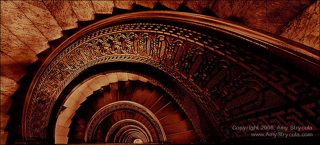 Circular Tower Staircase : Circular staircase the bank tower pittsburgh this