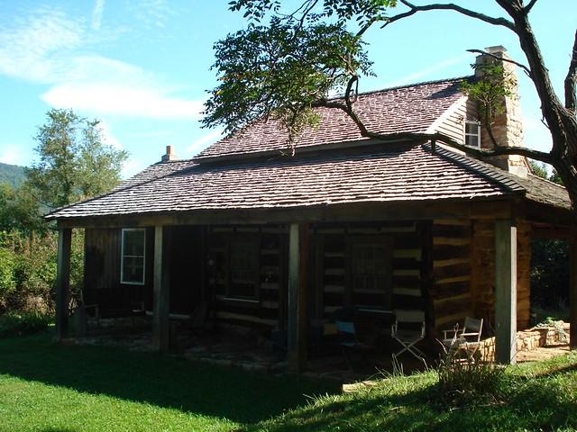 HokiesWknd02   Accomodations? 1800's log cabin 20 mins ...