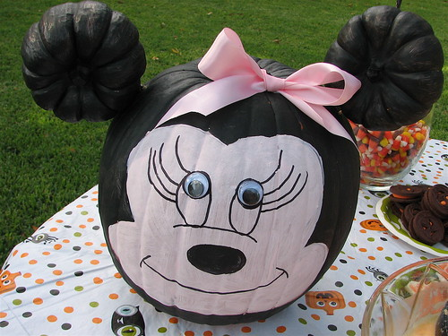 Minnie Mouse Painted Pumpkin Flickr Photo Sharing