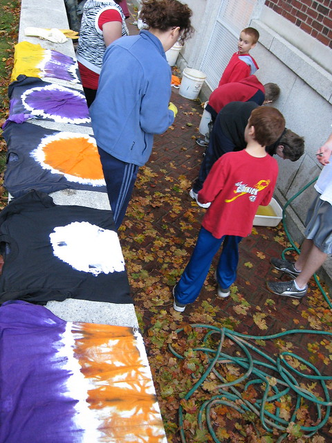 Halloween Tie Dye Craft