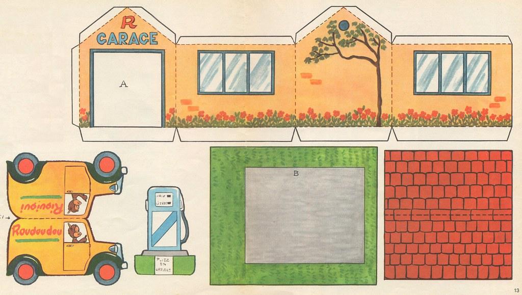 Большой дом из бумаги