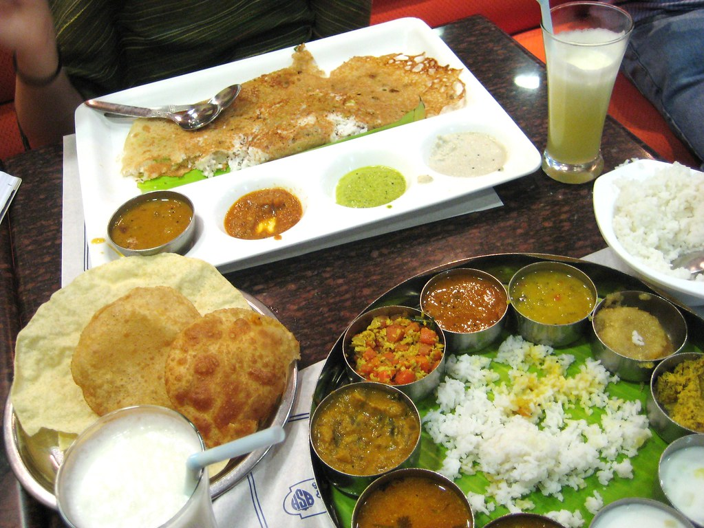 Tasty but salty south indian food in north india top co for Abhiruchi south north indian cuisine