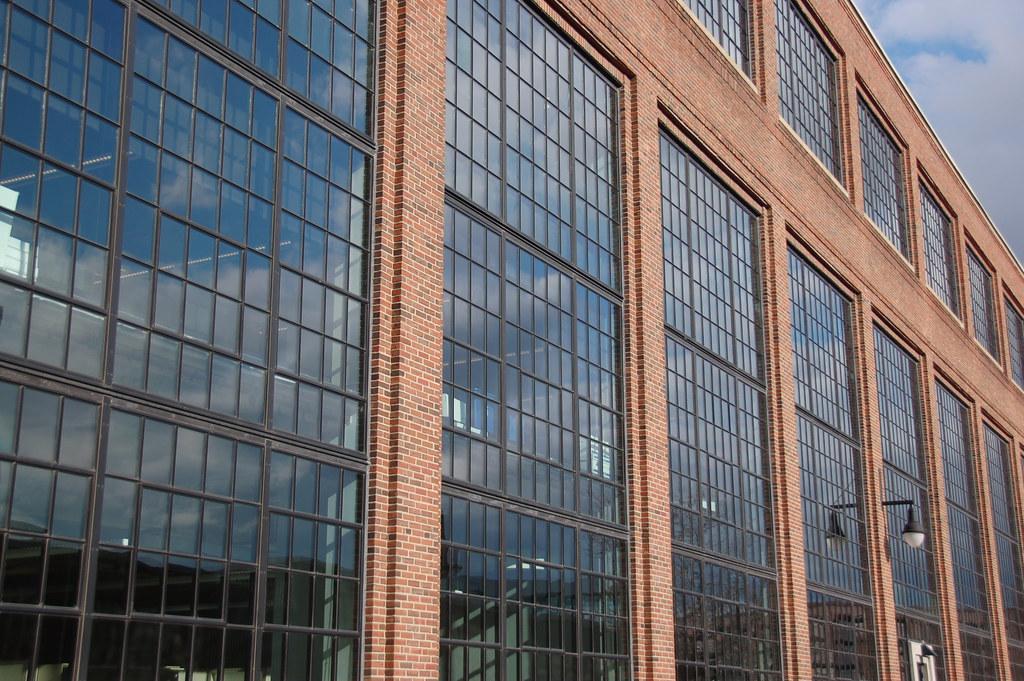 Arsenal Building Watertown Glass Amp Brick Facade Angle Vi