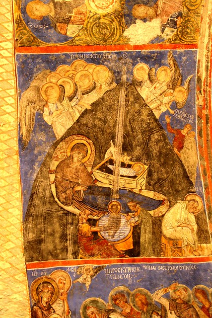 Goreme Church Paintings Scrapped Off Faces