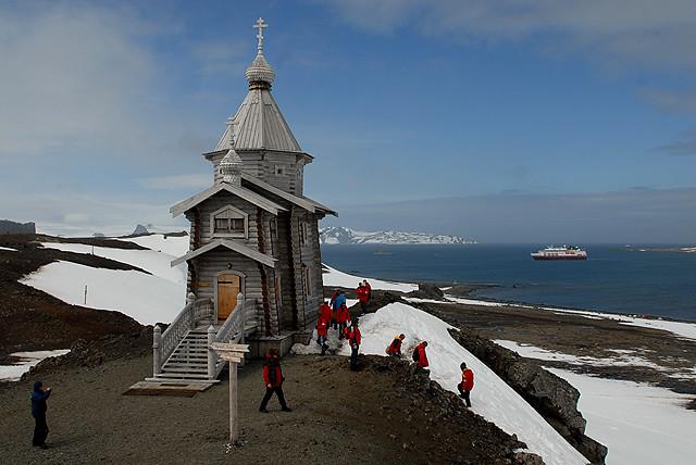Antarctica: Russia's B...