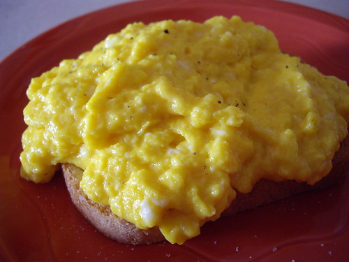 Sublime Scrambled Eggs on Toast | by swampkitty