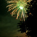 Fireworks at Otsego Lake