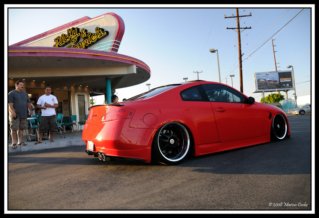 New Infiniti G35 Coupe >> Custom Red G35 Coupe | Infiniti Ricky and Ronnie's monthly m… | Flickr