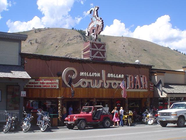 Million cowboy bar jackson hole wy rrusty flickr