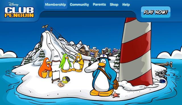 club penguin waddle around meet new friends uk
